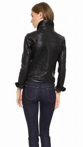 Lyst - Joeu0026#39;S Jeans Leather Jacket in Black