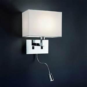 Lampe De Chevet Murale : applique murale avec liseuse led luminaire faro ~ Teatrodelosmanantiales.com Idées de Décoration