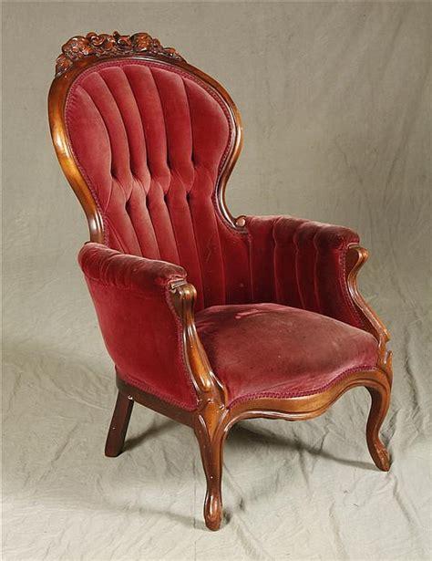 american victorian mahogany gentlemans chair   flora
