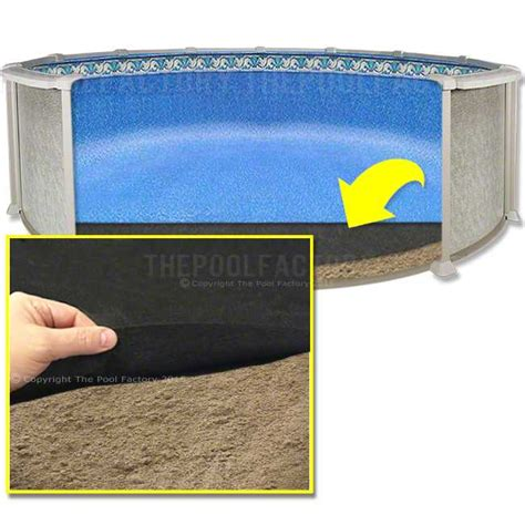 Best Above Ground Pool Floor Padding by 24 Liner Floor Pad By Armor Shield The Pool Factory