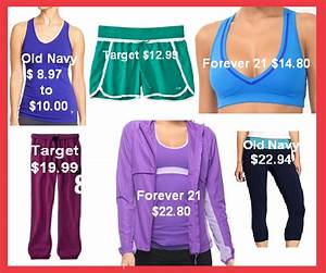 Where to Find Affordable Workout Clothes - Girly Schtuff | Girly Schtuff