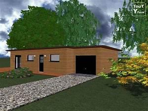 maison ossature bois kit mzaolcom With maison toit en verre 10 kits autoconstruction maison bois la maison bois par