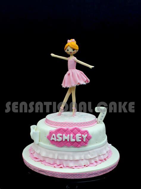 sensational cakes sweet ballerina cake singapore