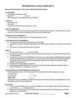 rental lease agreement rental agreement forms ez landlord forms