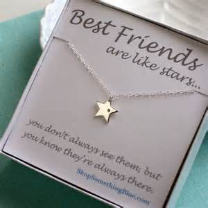 best friend gift necklace genuine charm lucky bff