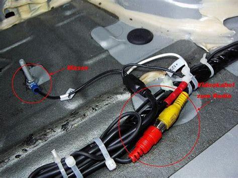 rückfahrkamera einbauen anleitung einbau doppeldin moniceivers zenec ze mc290 und