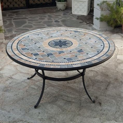 Dining Table Outdoor Dining Table Mosaic
