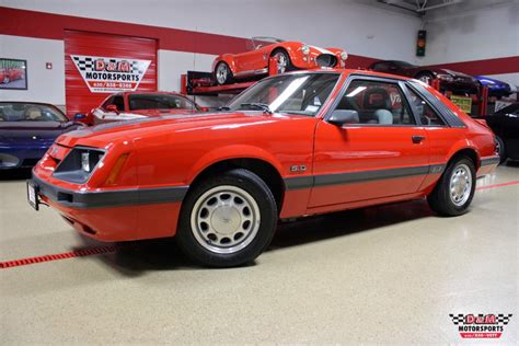 1986 Ford Mustang by 1986 Ford Mustang Gt Stock M5677 For Sale Near Glen
