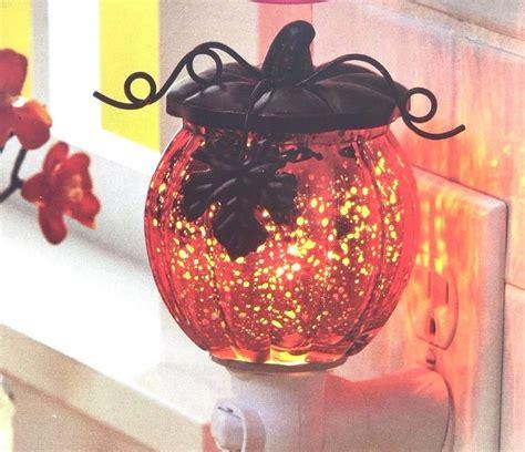 homes  gardens pumpkin scented wax warmer glass
