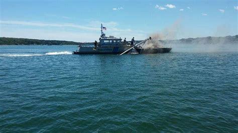 Boat Crash Oak Bluffs by Crews Douse On Two Sailboats Oak Bluffs