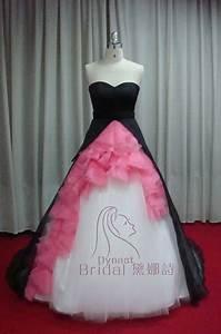 Taffeta Tulle Organza Royal Train Ruched Hot Pink Black ...