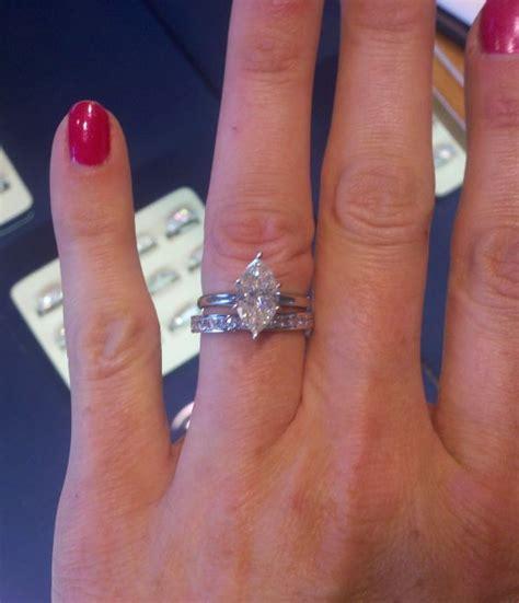 marquise wedding rings ideas  pinterest