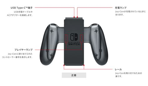 grip joy con charge nintendo switch controllers charging joycons packed usgamer doesn prices