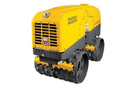 wacker rtxsc remote controlled trench roller