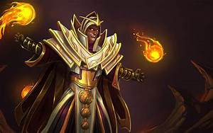 Dota 2 Heroes Invoker Fighter Fireballs Roles Pusher Carry