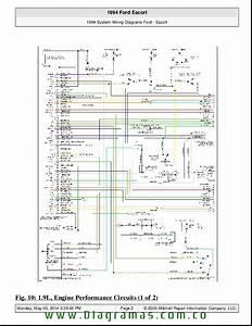 Diagramas De Engine Performance 1 9 Escort 94 Pdf