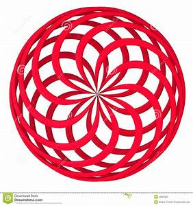 Abstract Round 3d Shape Royalty Free Stock Photography ...