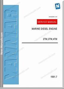 Yanmar 2tm 3tm 4tm Workshop Manual