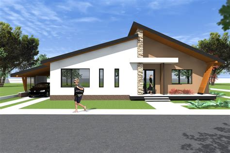 modern craftsman style house plans bungalow house design 3d model a27 modern bungalows by