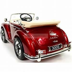 Voiture Enfant Vintage : mercedes 300s voiture lectrique pour enfant 12 volts ~ Teatrodelosmanantiales.com Idées de Décoration