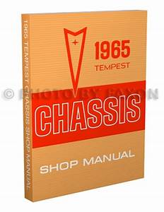 1965 Tempest  Lemans   U0026 Gto Wiring Diagram Manual Reprint