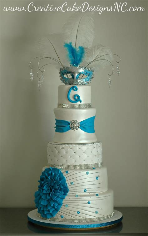 quinceanera cake covered  scratch  delicious