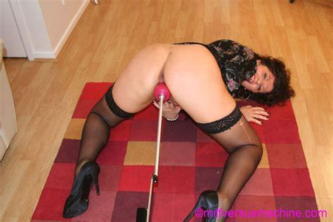 horny milf in black stockings gets her cunt xxx dessert