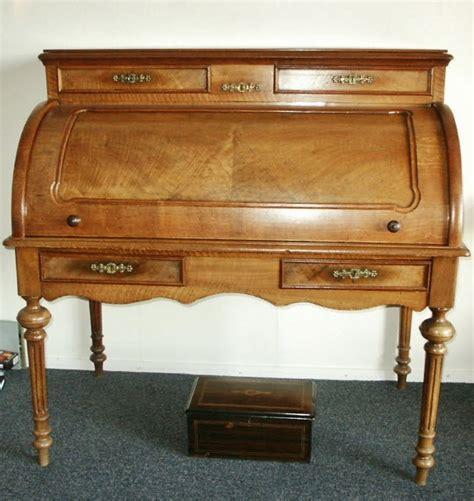 bureau de notaire bureau de notaire antique néerlandais en acajou env 1850