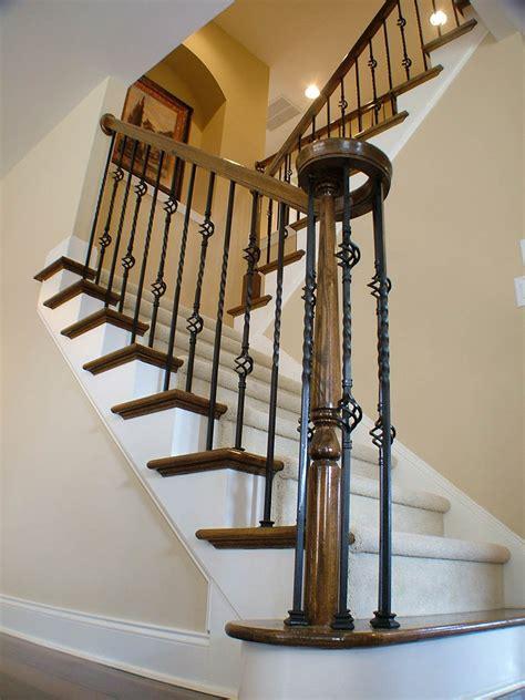 Metal Banister by Metal Baluster Custom Stairs Artistic Stairs