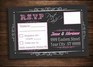 baby shower girl wedding bridal birthday pink rsvp post With digital wedding invitations with rsvp