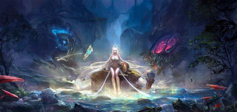 Janna, League Of Legends Wallpapers Hd / Desktop And Mobile Backgrounds