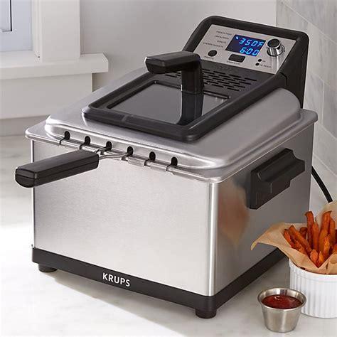 Krups Deep Fryer: Professional Deep Fryer   Crate and Barrel