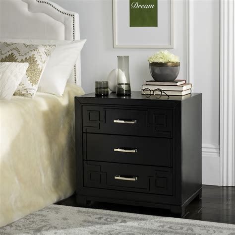 safavieh furniture nyc fox6278b accent tables nightstands furniture by safavieh