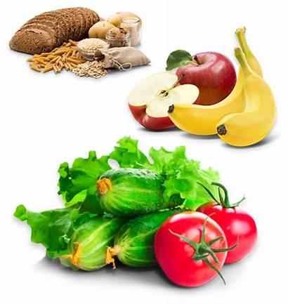 Grains Vegetables Fruits Whole Diet Beans Rich