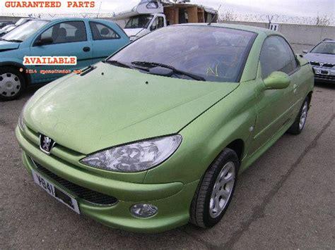 peugeot 206 price peugeot 206 cc 2001 price