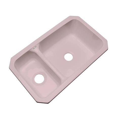 Thermocast Wyndham Undermount Acrylic 33 In Double Bowl