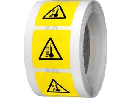 High temperature symbol labels. | EL360 | Label Source
