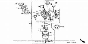 Honda Gx340 Carburetor Diagram