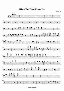 I Hate You Then I Love You Sheet Music