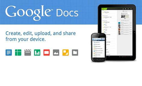 Android Google Docs Update Enables Offline Access To Documents