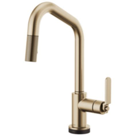 Litze? SmartTouch® Pull Down Faucet with Angled Spout and