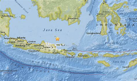 indonesia earthquake huge  magnitude quake strikes