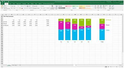 Excel Chart Column Stacked Spacing Data Bars