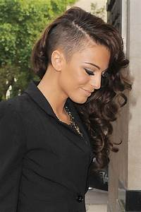 Cher Lloyd's undercut curls - celebrity hair and ...
