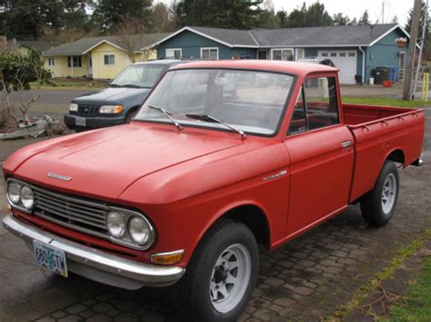 Datsun 520 For Sale by 1967 Datsun 1300 Pu 520 For Sale In Hubbard Oregon