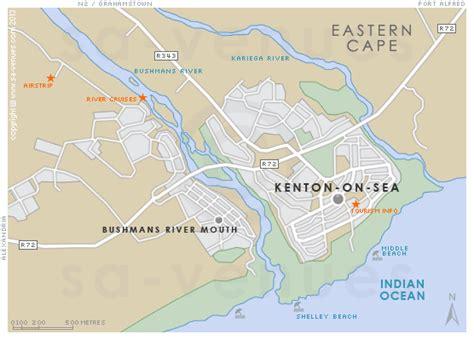 KENTON ON SEA Map