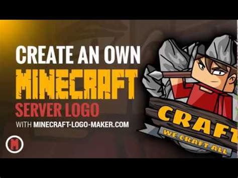 cooles minecraft server logo erstellen mit dem minecraft
