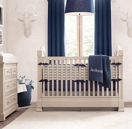 restoration hardware crib bedding
