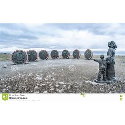 Nordkapp Norway - June 6 2016: Children Of The Earth