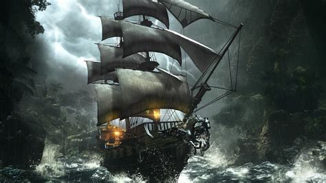 Barco Pirata Hd by Ravens Cry Fantasy Action Adventure Rpg Pirate Ship
